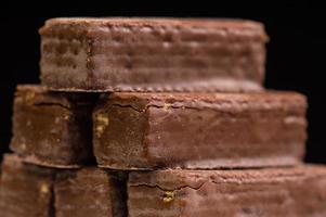 Chocolate waffles photo