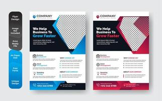 Business Book Cover Design Template Set
