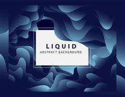 Blue gradient liquid abstract background