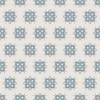 einzigartiger Stil blaues und graues Ziermuster