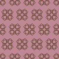 Unique Style Purple and Brown Ornamental Pattern vector