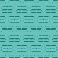 Unique Style Colorful Blue Green Pattern vector