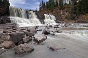Gooseberry falls, North Shore, Lake Superior, Minnesota, USA