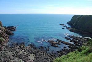 Rugged Inlet at Dunnottar