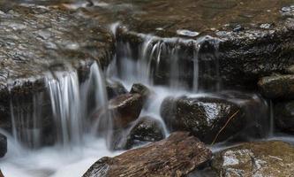 Waterfall closeup at Eagle Creek Oregon 3 photo
