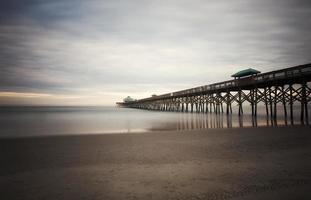 Folly Beach Pier charleston costa atlántica sc