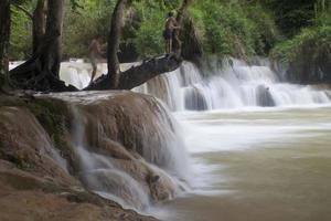 Tat Kuang Si waterfall photo
