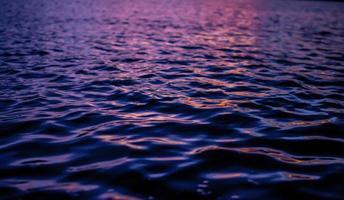 Lake at sun set
