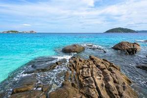 mar de verano en tailandia