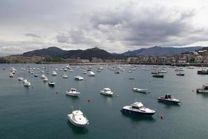 Spanish harbor photo