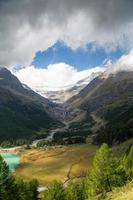 Italy - Switzerland - The Red Train Bernina Express photo
