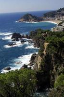 Paisaje cerca de Tossa de Mar, Costra Brava, Girona