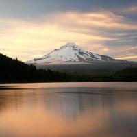 Mt Hood at Sunset photo