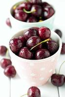 sweet cherry in a cup