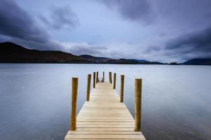 derwent water jetty, lake district