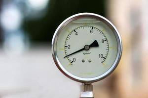 oil water manometer (pressure meter) photo