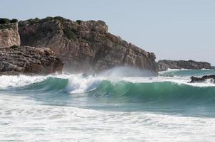 Big green wave photo