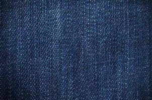 textura de mezclilla azul foto