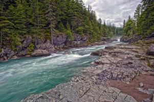 Avalanche Creek HDR photo