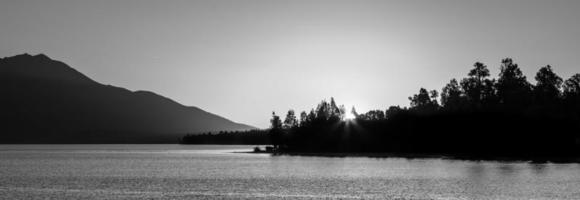 Beautiful Lake Brunner at Sunset , South Island, New Zealand