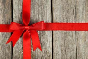 ribbon with bow photo