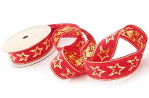 Starry Red Ribbon