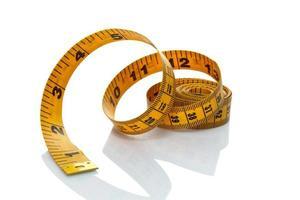 Tape measure ribbon photo