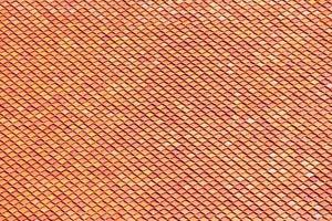 textura laranja do telhado do templo