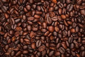 fondo de granos de café, textura foto