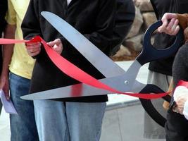 Ribbon Cutting photo
