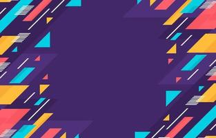 Colorful Diagonal Geometric Elements