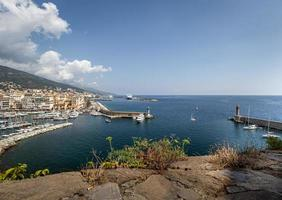 The Port of Bastia in Corsica