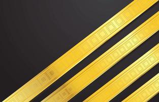 Fancy Gold Stripes Background vector