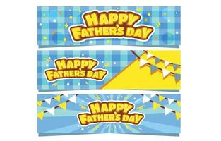 Fun Banner To Celebrate Fathers Day