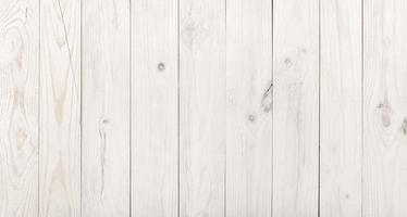 Weathered white wooden background photo