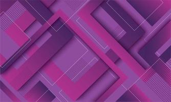 Modern purple gradient geometric trendy design vector