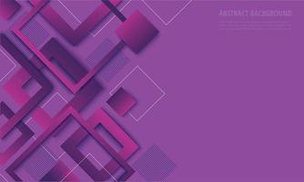 Modern purple diamond gradient trendy design vector