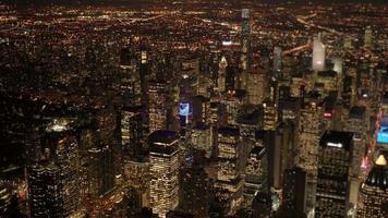 städtisches Stadtbild Wahrzeichen Landschaft Hintergrund. Skyline-Gebäude in New York City