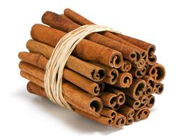 Cinnamon sticks photo
