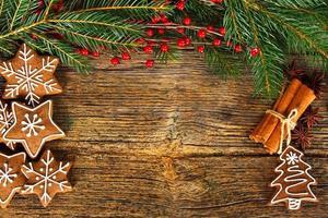 Christmas composition photo
