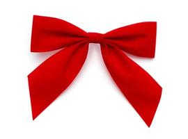 Red Bow with path