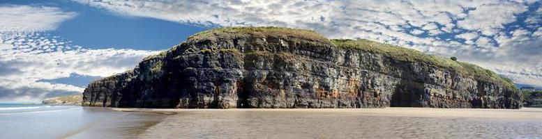 panorama de los acantilados de ballybunion