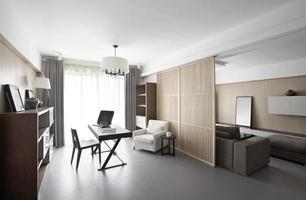 Clean and elegant home interior