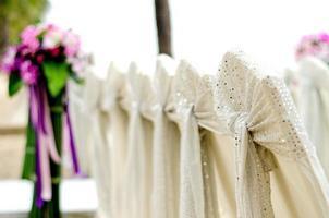 sillas de boda foto