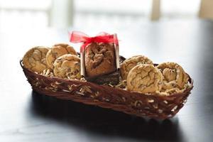 Gift basket of cookies photo