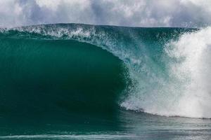 Blue Clean Crashing Wave