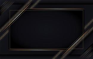 Luxury Background with Gold Lines
