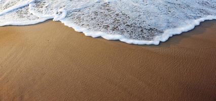 Sand and sea photo