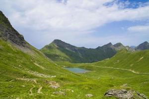 Lac Vert in Valais, region touristic Portes du Soleil , Switzerland