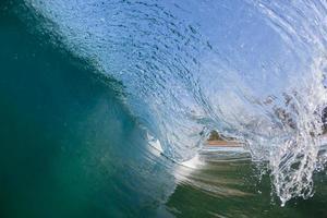 Wave Inside Blue